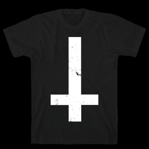 Cumshot clip black shirt upside down