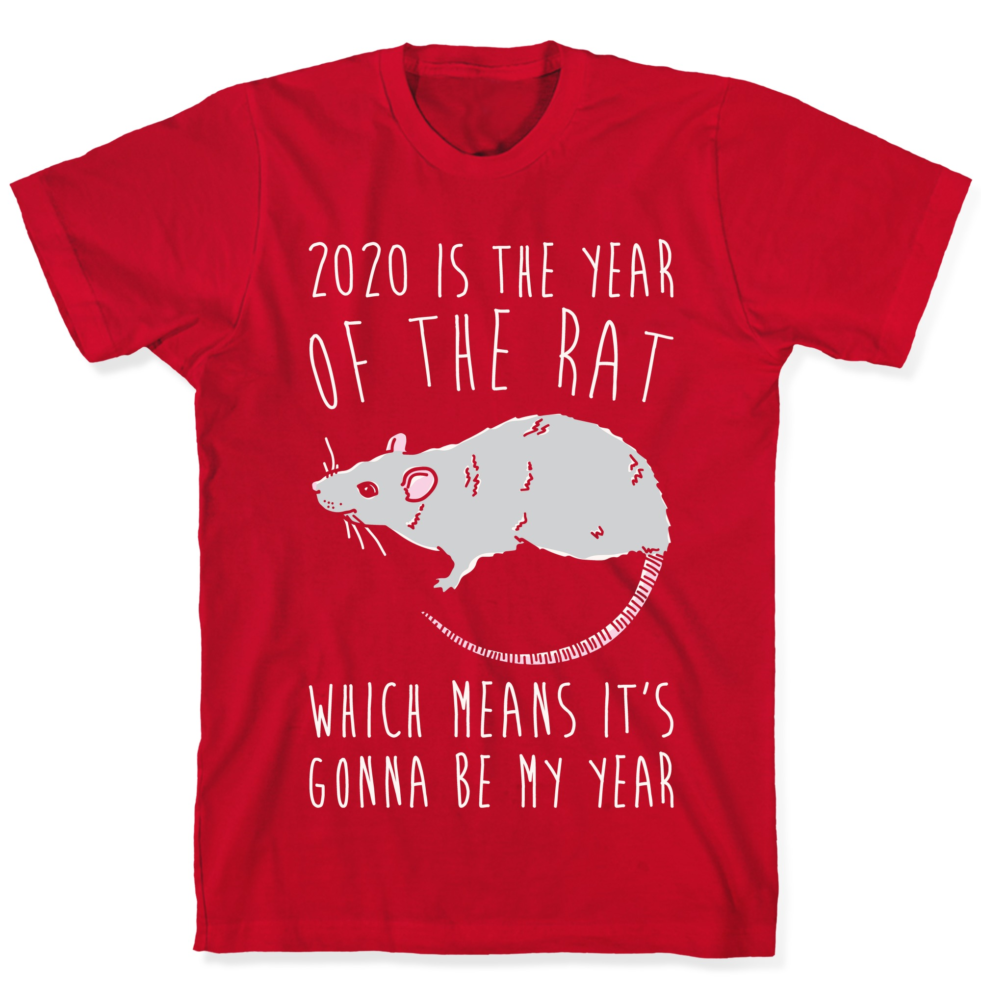 2020 /'Year of the Rat/' Print