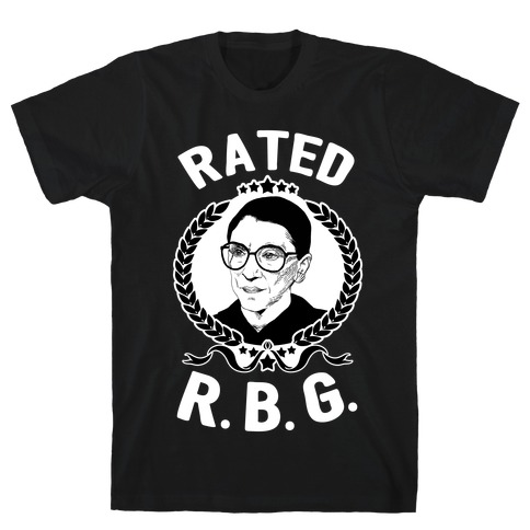 Rated R.B.G. Mens T-Shirt