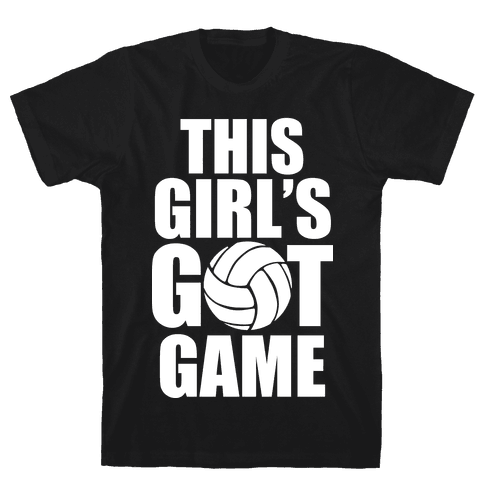This Girl's Got Game (Volleyball) Mens T-Shirt