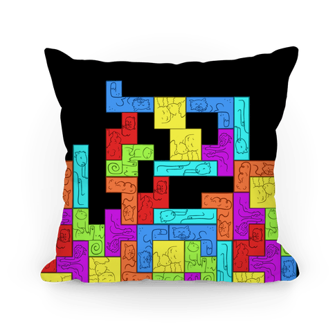 Tetris Cats Fail Pattern