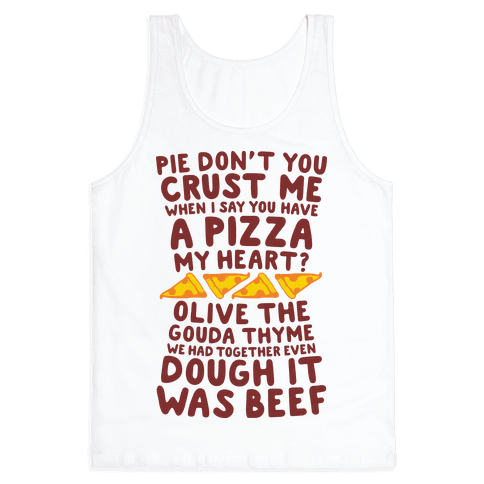A Pizza My Heart Tank Top
