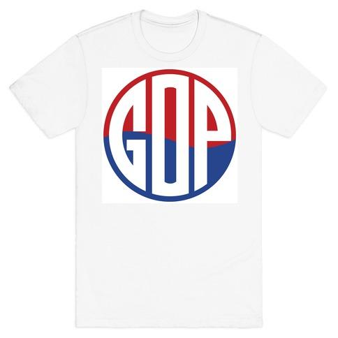GOP Pop Emblem Mens T-Shirt