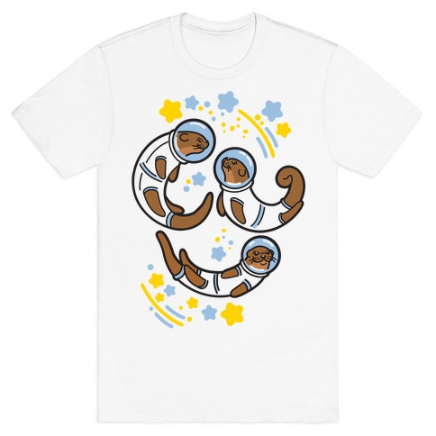 Otters In Space T-Shirt