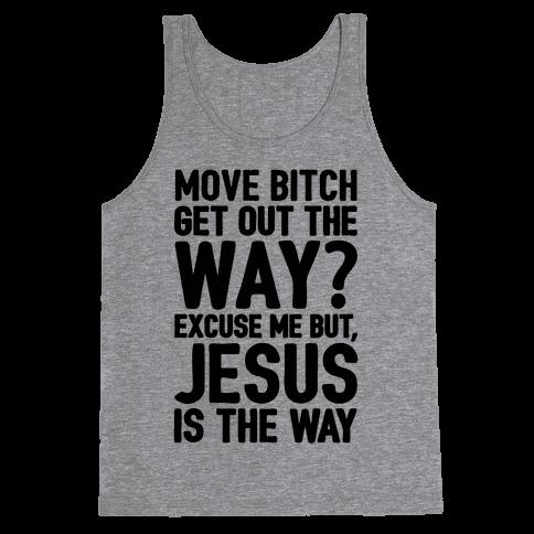 Jesus Is The Way Tank Top