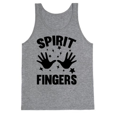 Spirit Fingers (Black) Tank Top