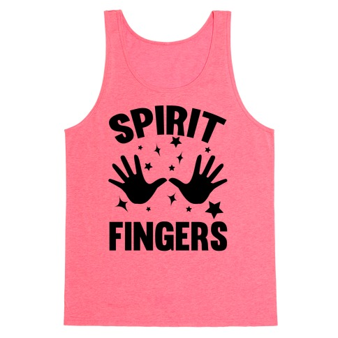 Spirit Fingers (Black) Tank Top