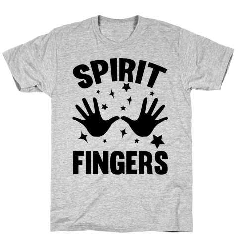 Spirit Fingers (Black) T-Shirt