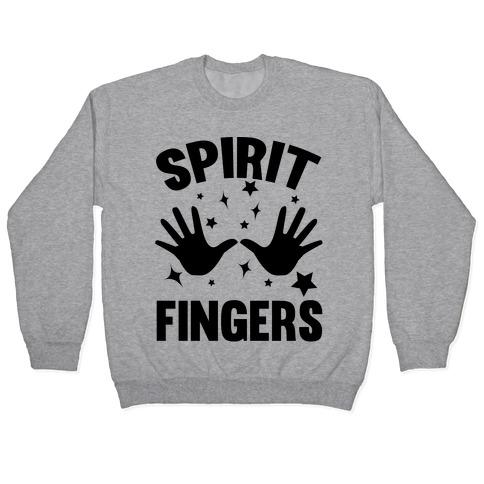 Spirit Fingers (Black) Pullover
