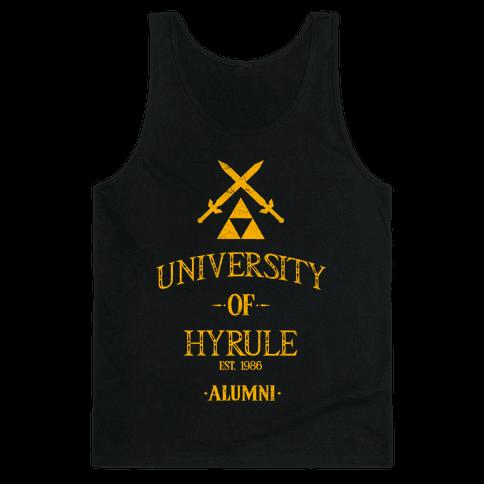 University of Hyrule Alumni Tank Top
