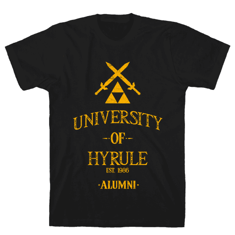 University of Hyrule Alumni Mens T-Shirt