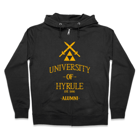 University of Hyrule Alumni Zip Hoodie