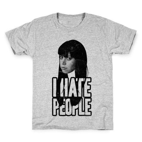 I Hate People Kids T-Shirt