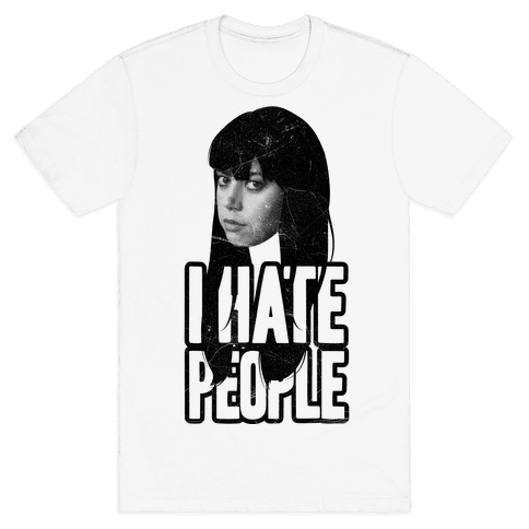 I Hate People Mens T-Shirt