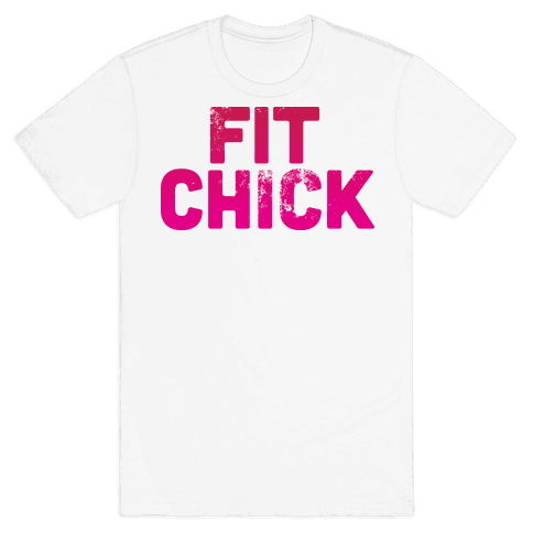 Fit Chick Mens T-Shirt