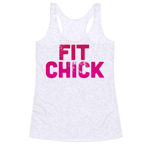 Fit Chick Racerback Tank Top