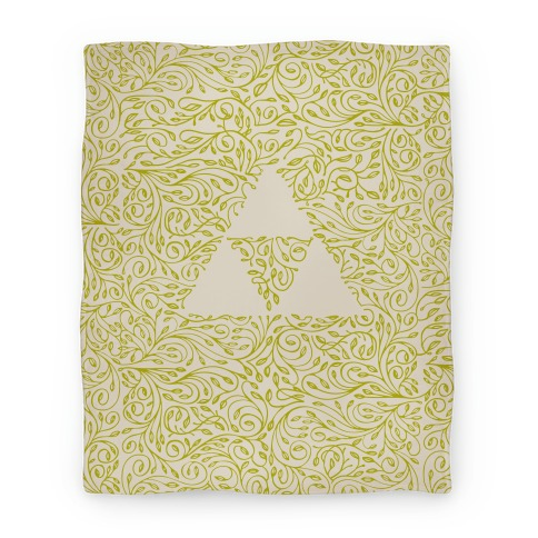 Subtle Triforce Pattern Blanket