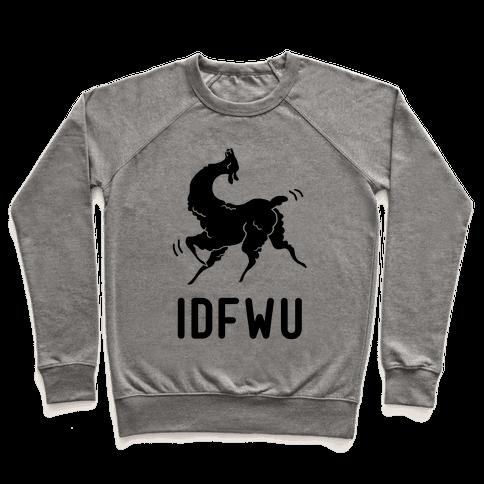 IDFWU Llama Pullover
