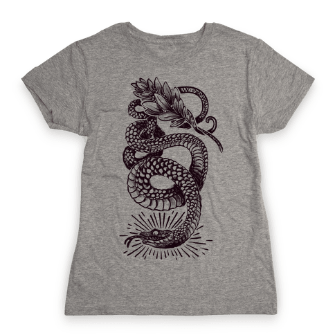 Laurel Snake Womens T-Shirt