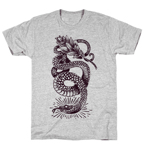 Laurel Snake Mens T-Shirt