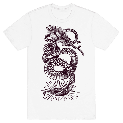 Laurel Snake Mens T-Shirt