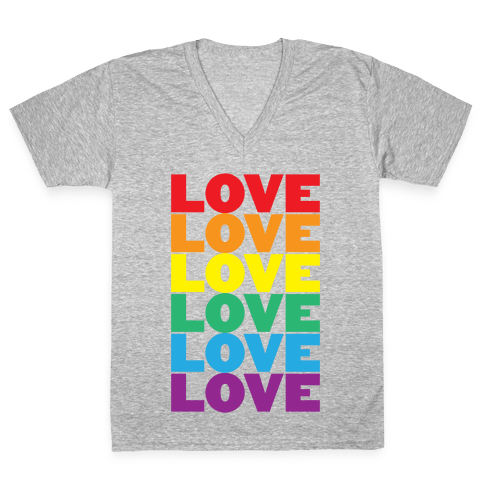 Love V-Neck Tee Shirt