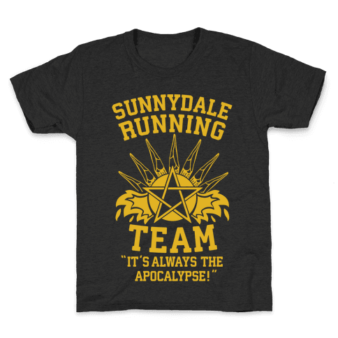 Sunnydale Running Team Kids T-Shirt