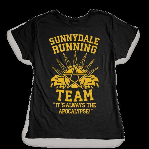Sunnydale Running Team Womens T-Shirt