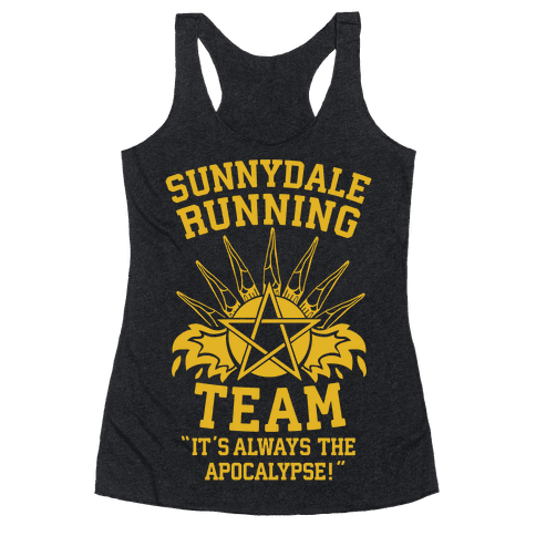 Sunnydale Running Team Racerback Tank Top