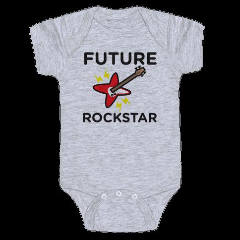 Baby Rockstar Baby Onesy
