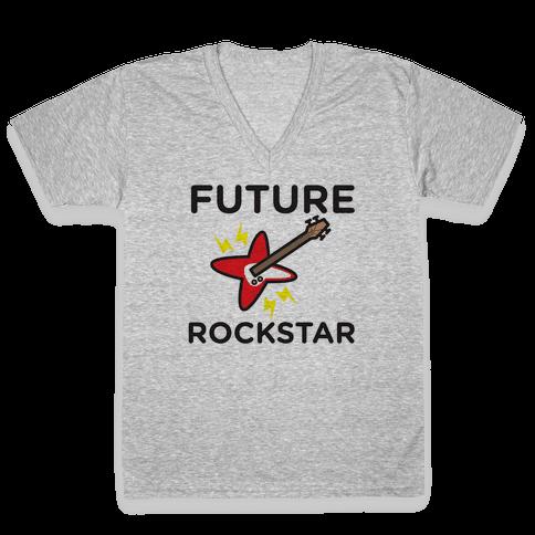 Baby Rockstar V-Neck Tee Shirt
