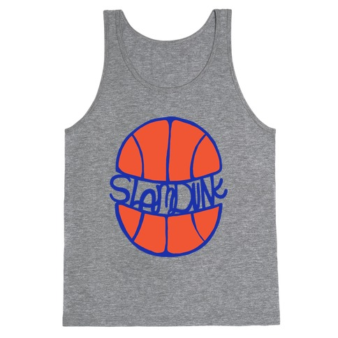 Basketball Slam Dunk Tank Top
