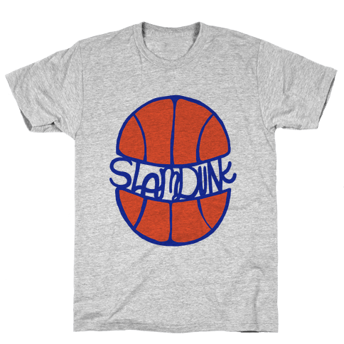 Basketball Slam Dunk Mens T-Shirt