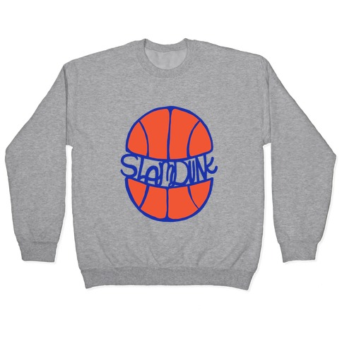 Basketball Slam Dunk Pullover