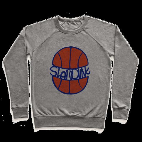 Basketball Slam Dunk Pullover
