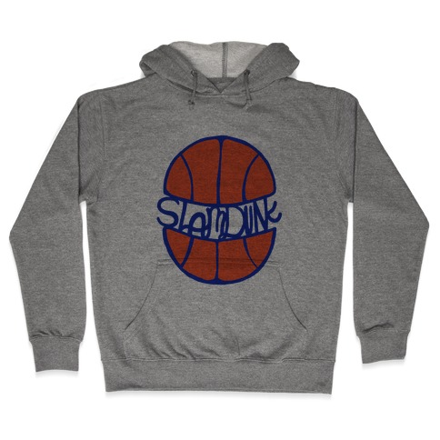 Basketball Slam Dunk Hooded Sweatshirt