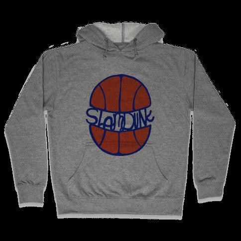 Basketball Slam Dunk Hooded Sweatshirt