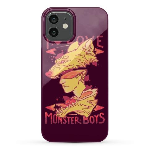 I Love Monster Boys Phone Case