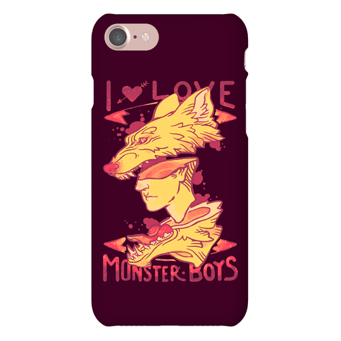 I Love Monster Boys Phone Case