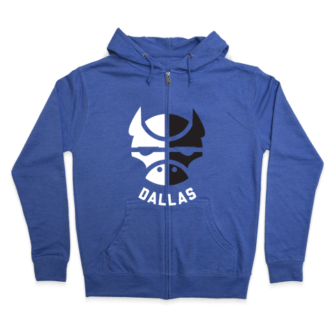 Dallas Ball Zip Hoodie