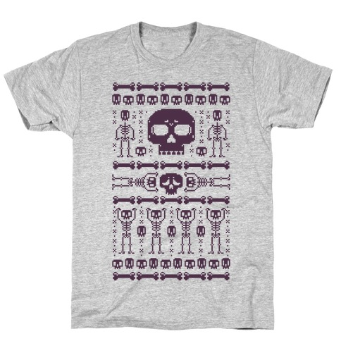 Ugly Skeleton Sweater T-Shirt