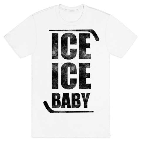 Ice Ice Baby Mens T-Shirt