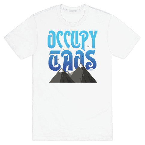 Occupy Taos Mens T-Shirt