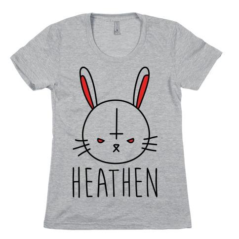 Heathen Easter Bunny Womens T-Shirt