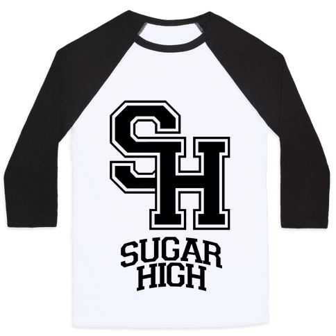 Sugar High Baseball Tee