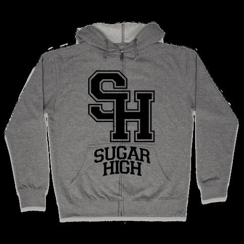 Sugar High Zip Hoodie