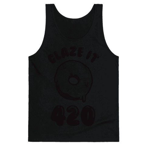 Glaze It 420 Donut Tank Top