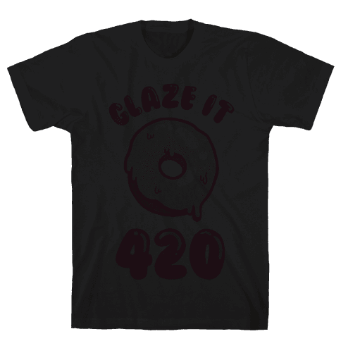 Glaze It 420 Donut Mens T-Shirt