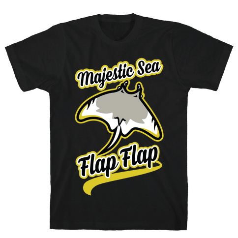 Majestic Sea Flap Flap Mens T-Shirt