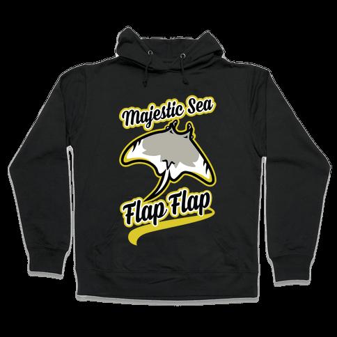 Majestic Sea Flap Flap Hooded Sweatshirt